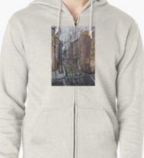 Cityscape Zipped Hoodie
