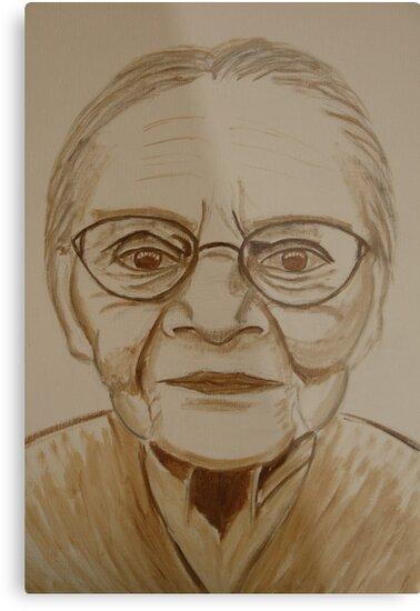 Old Lady by Wolska