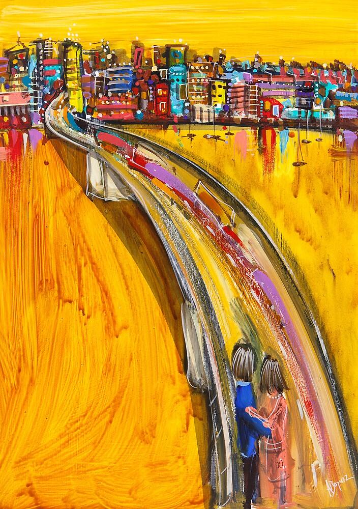 Love flows by Adam Bogusz