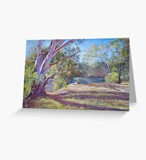 Afternoon Shadows Greeting Card
