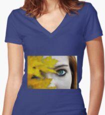 Pierce Women's Fitted V-Neck T-Shirt