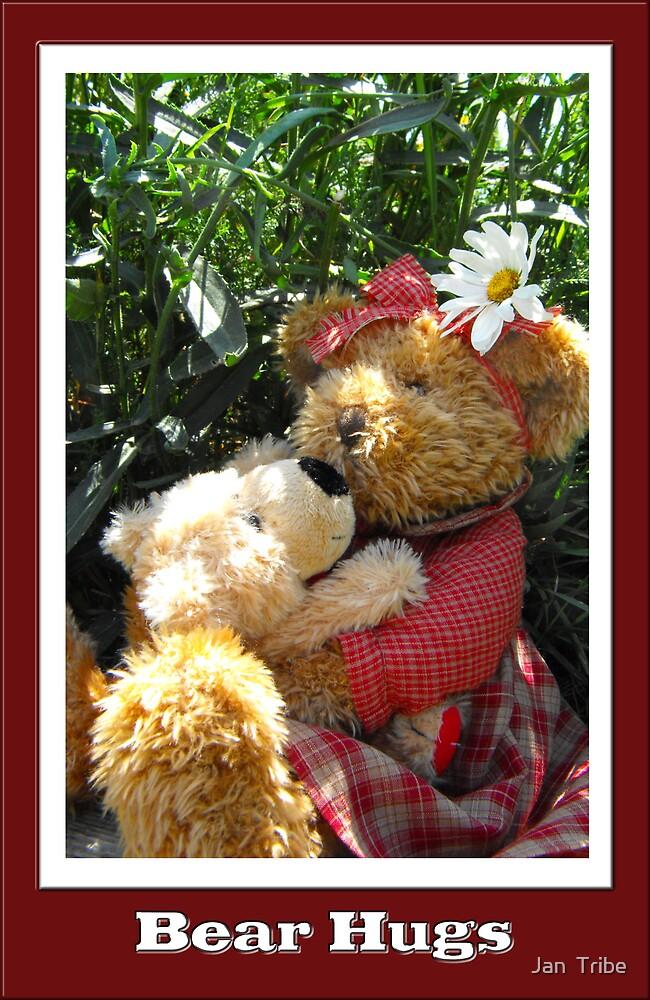 """""""Teddy Bear"""" Hugs by Jan  Tribe"""