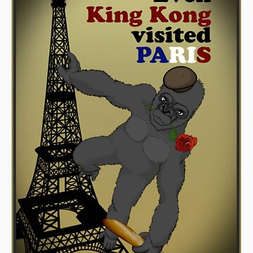 Even King Kong visited Paris by l0kiderhase