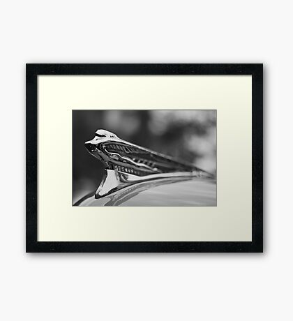 Flying Lady - 1946-48 DeSoto By Chrysler Framed Print