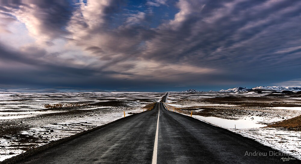 Road to Iceland by Andrew Dickman