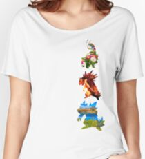The evolved starters (johto) Women's Relaxed Fit T-Shirt