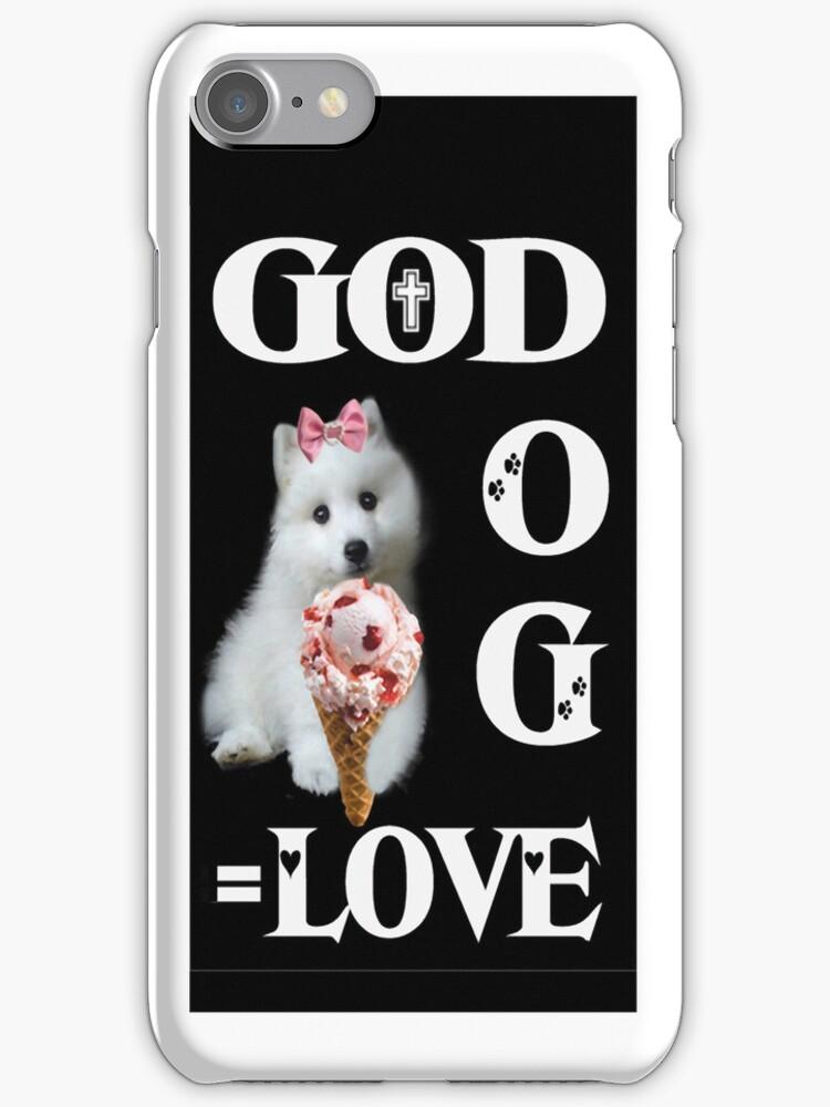 。◕‿◕。GOD+DOG = LOVE IPHONE CASE。◕‿◕。 by ✿✿ Bonita ✿✿ ђєℓℓσ