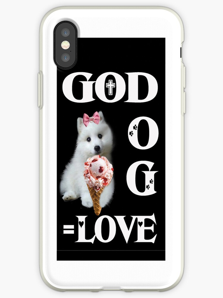 。◕‿◕。GOD+DOG = LOVE IPHONE CASE。◕‿◕。 by ✿✿ Bonita ✿✿ ђєℓℓσ