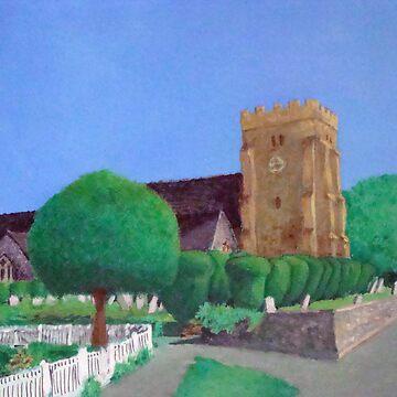 Henfield Church by JoseTorres