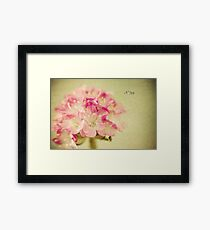 """""""Textured Flower"""" Framed Print"""