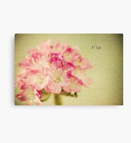 """""""Textured Flower"""" Canvas Print"""