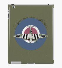 Vintage Look Fighter Plane Supermarine Spitfire iPad Case/Skin