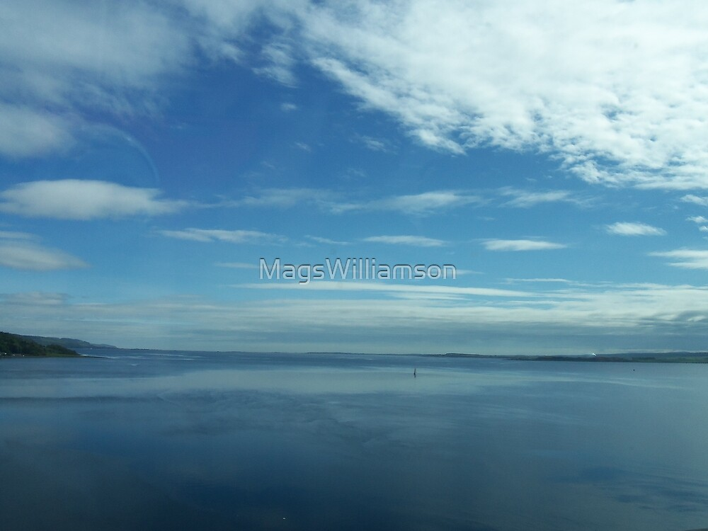 Into The Blue, Leaving Inverness by MagsWilliamson