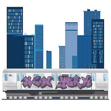 Subway Blues by coandx