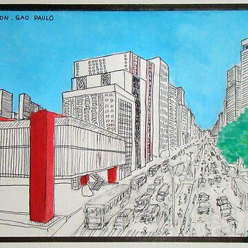 Masp Trianon Sao Paulo by JoseTorres