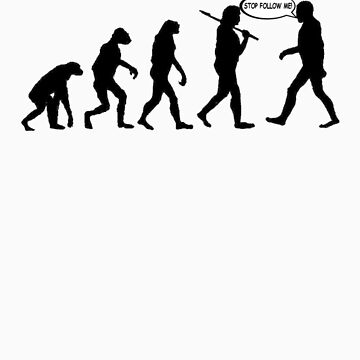 Evolution by ComedyShirts
