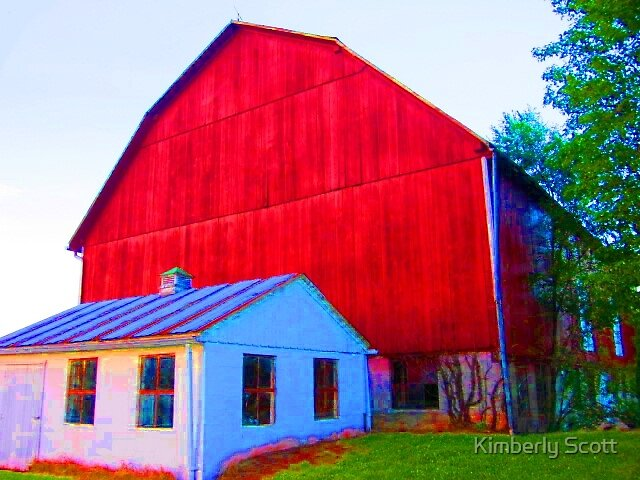 Wells Tannery, Pennsylvania Barn by Kimberly Scott