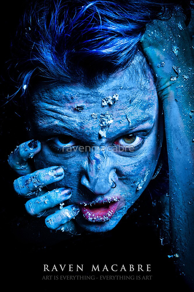 Blue Anger by ravenmacabre