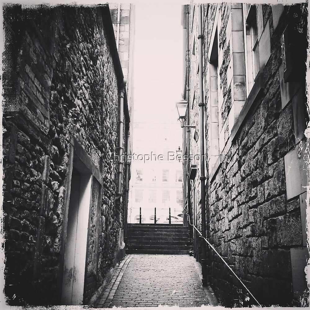Old street by Christophe Besson