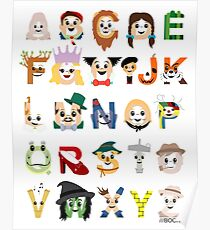 Oz-abet (an Oz Alphabet) Poster