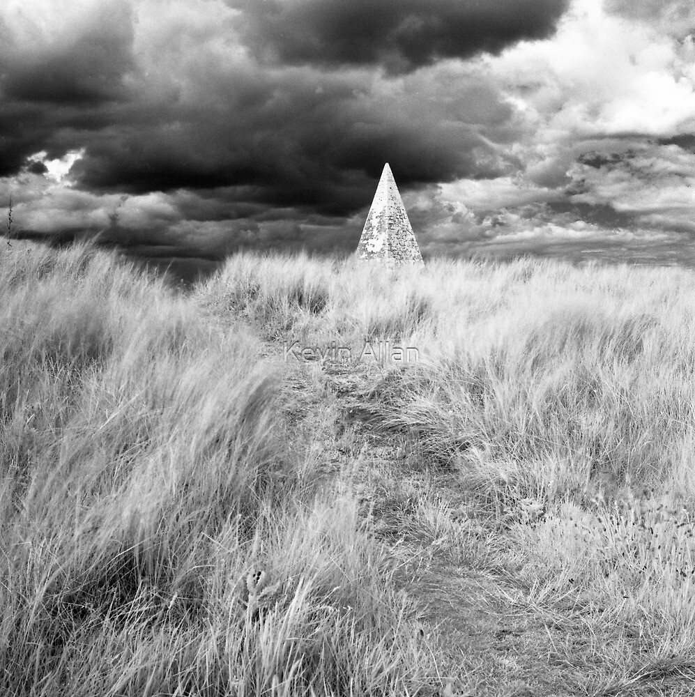 Beacon on Holy Island by Kevin Allan