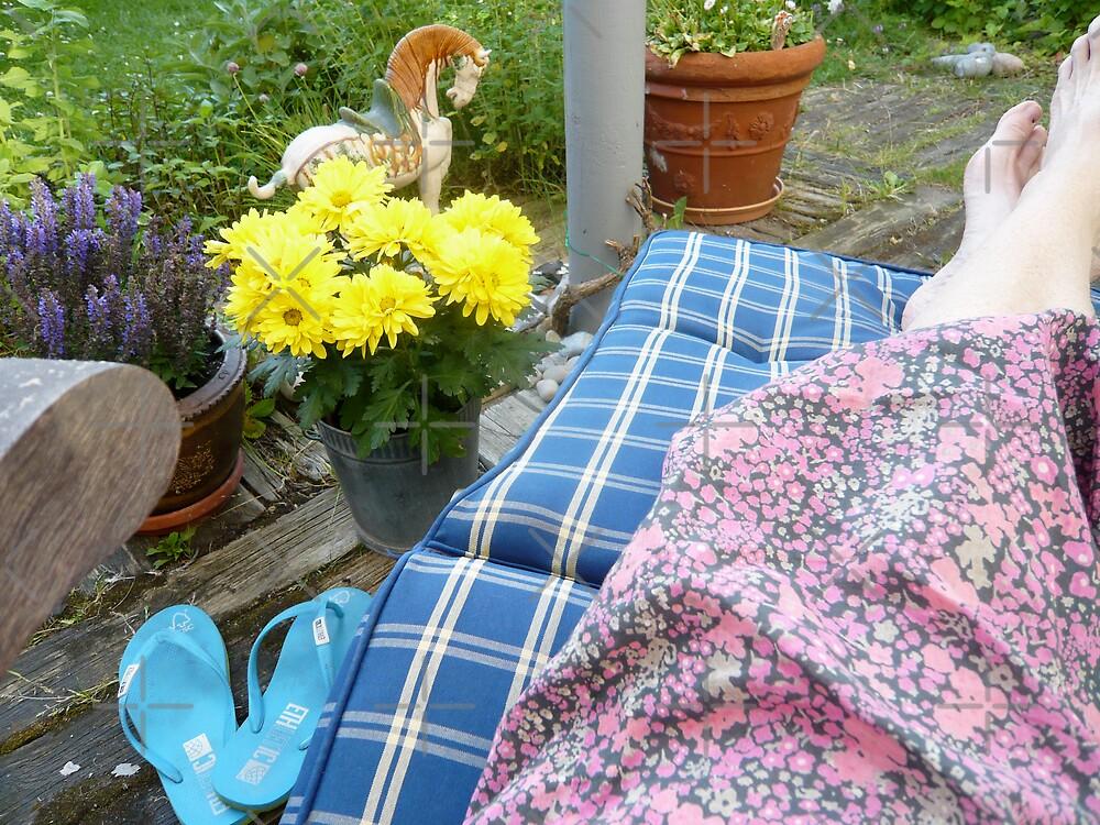 Silence in the Summer Garden by Hekla Hekla