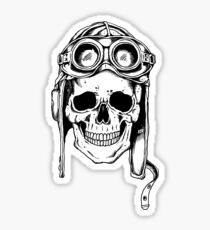 WWII Flying Ace Sticker