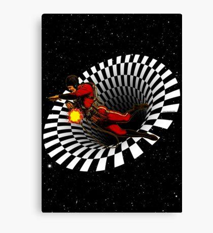 Black Hole Buck Canvas Print