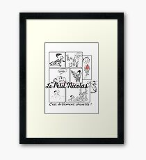 le petit nicolas Framed Print