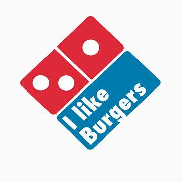 I like Burgers (Not Pizza) - Domino's Pizza Parody by aznsparks