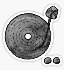Old Time Rock 'N' Roll Sticker