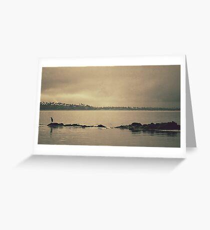 Gloomy Bay Greeting Card