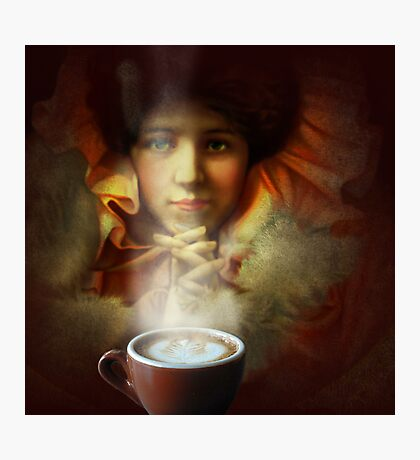 Even a picture can smell good coffee Photographic Print