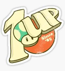 1UP Soda Sticker