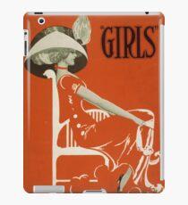 Vintage poster - Girls iPad Case/Skin