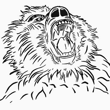 Baboon 2 by artparadai