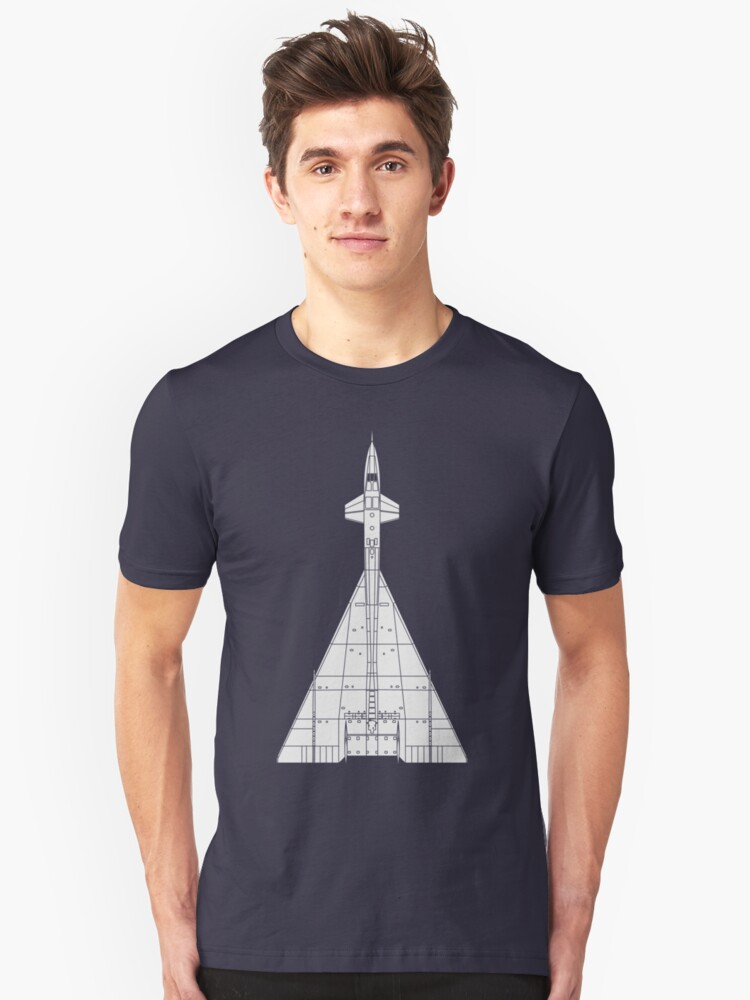 North American XB-70 Valkyrie Unisex T-Shirt Front