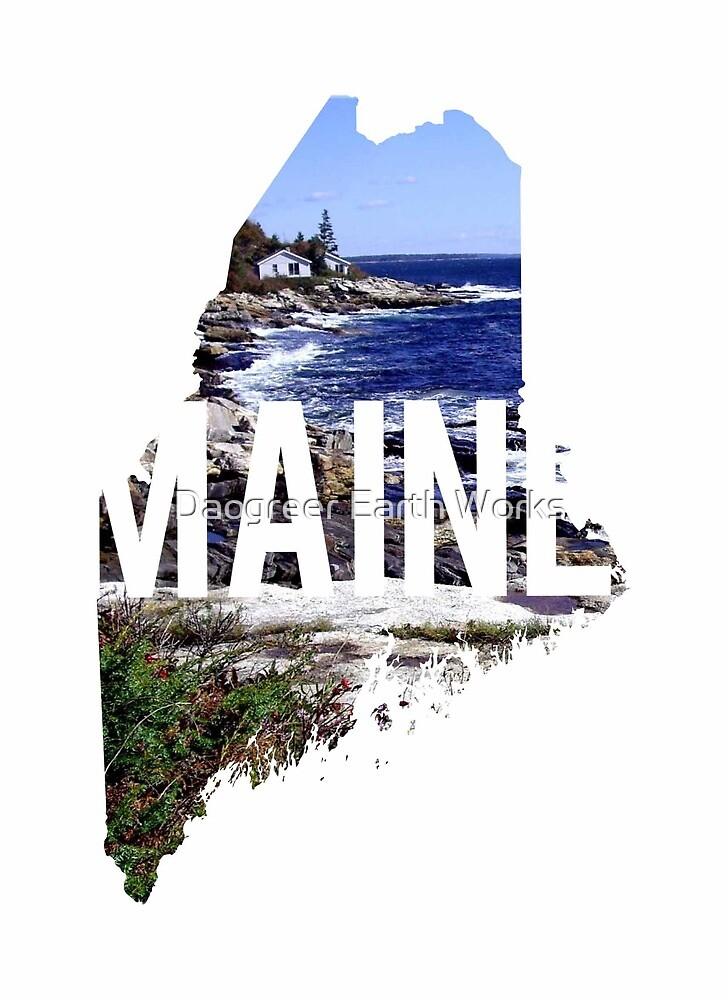 Maine Coast by Daogreer Earth Works