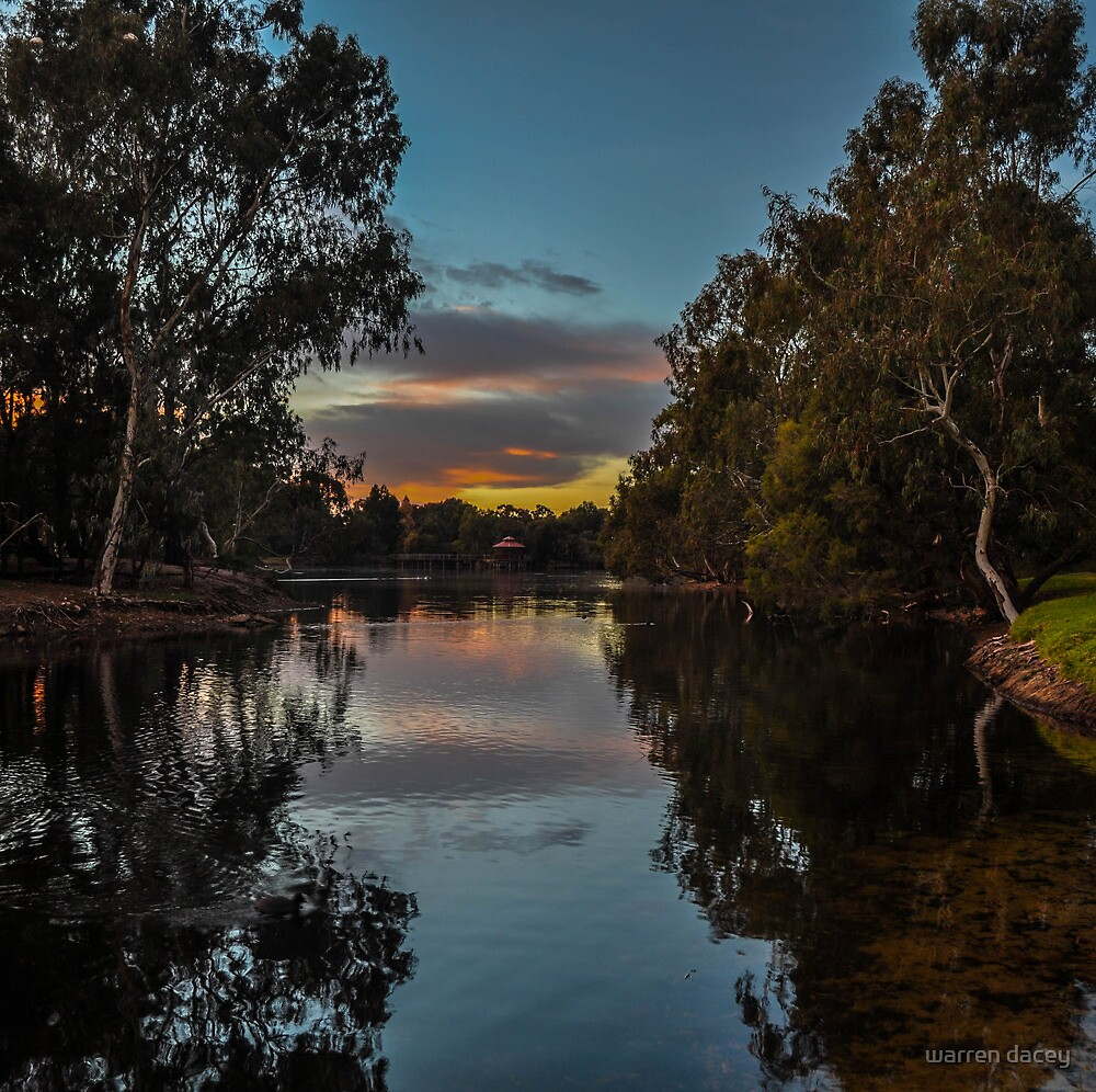 tomatoe lake  by warren dacey
