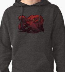 Octopus (Red) Pullover Hoodie