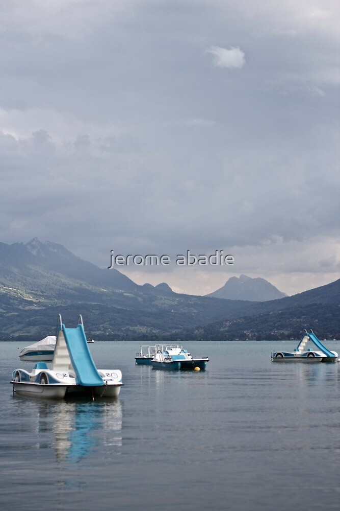 lac d'Annecy by jerome abadie