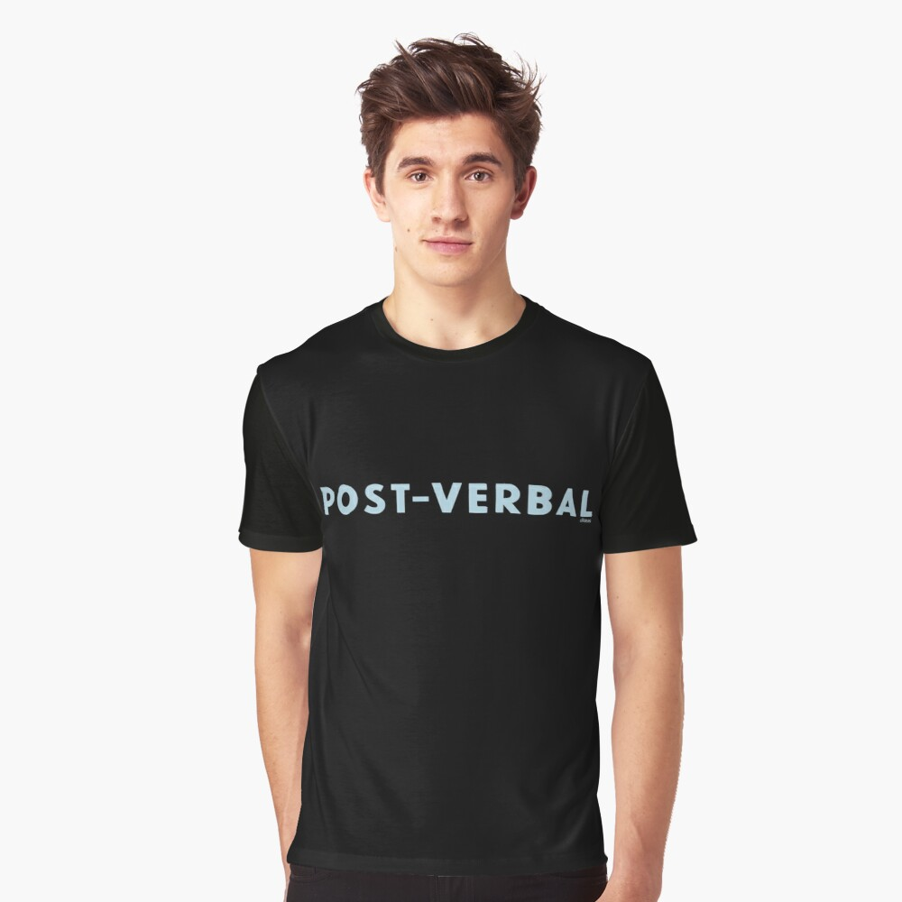 POST-VERBAL Graphic T-Shirt Front