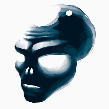 Alien Head by MonkeyKnot