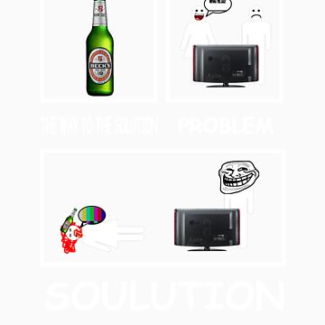 Male vs. Famale - Beer by ComedyShirts