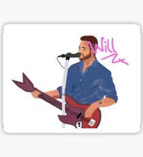 Will Farquarson Sticker