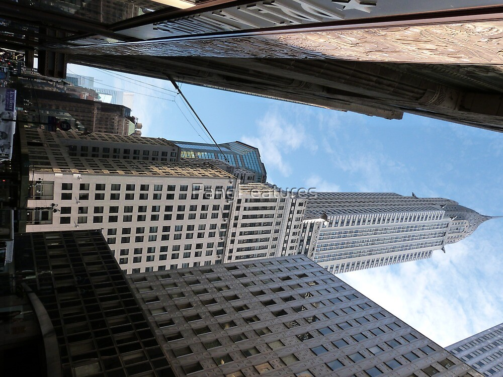 Chrysler Building, New York. by FangFeatures