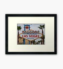 Las Vegas, USA Framed Print
