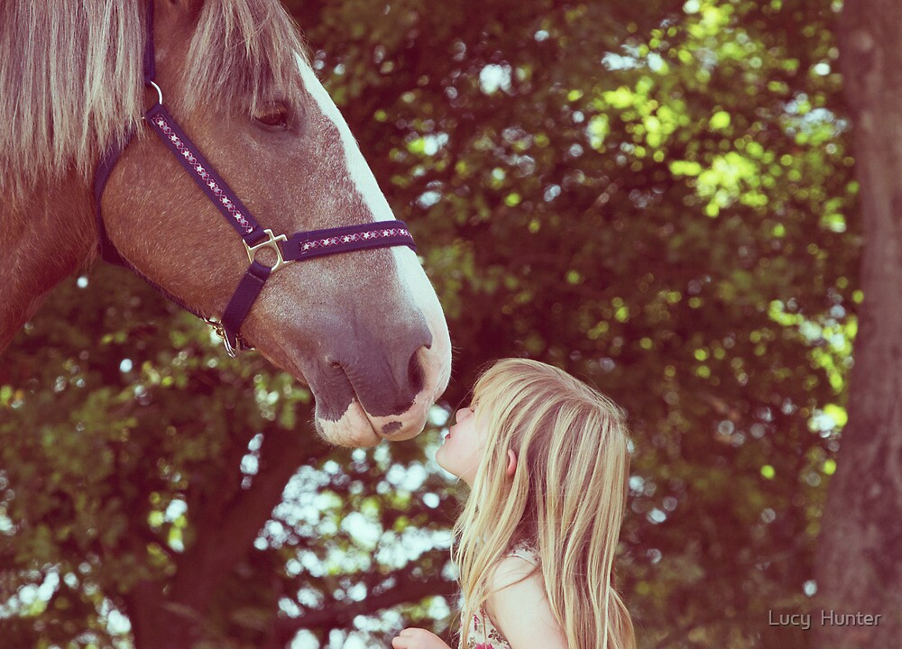 A Child's Kiss. by Lucy  Hunter