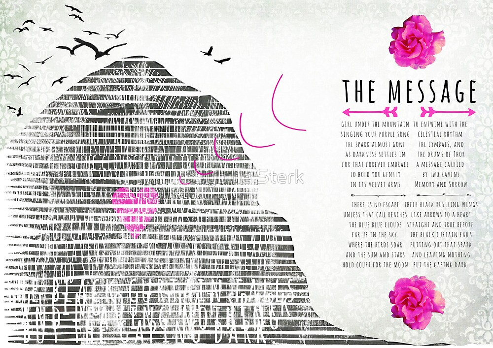 the message by Sybille Sterk
