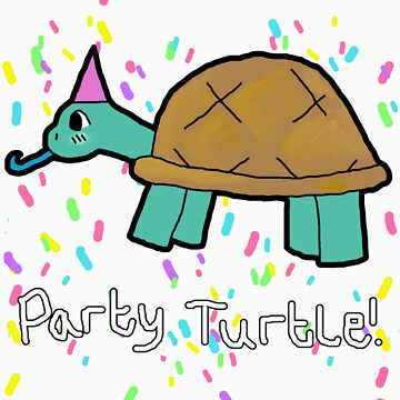 Party Turtle! by thatgirlshannon